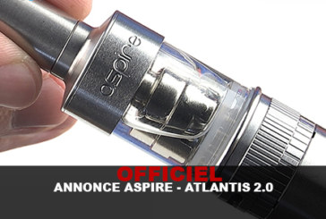 OFFICIEL : ANNONCE ASPIRE – ATLANTIS 2.0