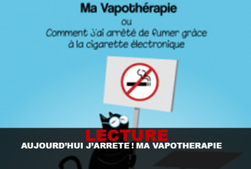 """READING: Today I stop! : """"My vapotherapy"""""""
