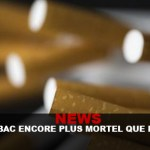 NEWS: Tobacco even more lethal than expected!