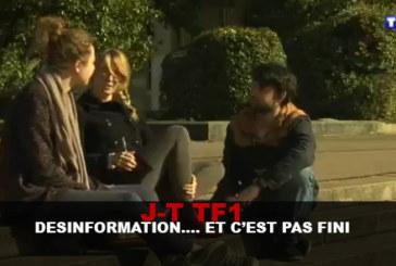 JT TF1: Disinformazione ... E non è finita ...