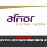AFNOR : les normes publiées vont structurer le marché !