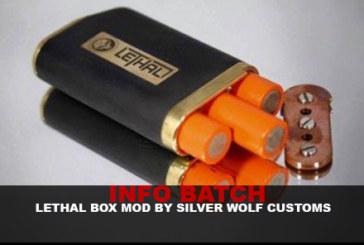 INFORMAZIONI SUL MODELLO: Lethal Box Mod (Silver Wolf Customs)