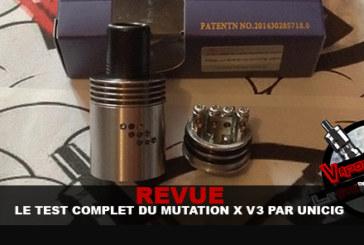REVUE : Le test complet du Mutation X V3 (Unicig)