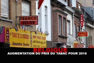 בלגיה: עלייה במחיר הטבק עבור 2016.
