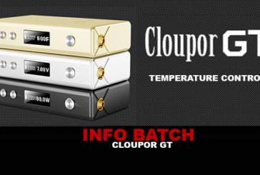 INFO BATCH : Cloupor GT