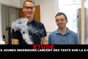 STUDY: Young engineers launch tests on e-cigs!