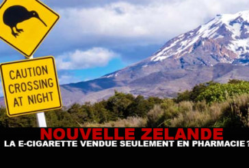 N.ZELANDE: The e-cigarette only sold in pharmacies?