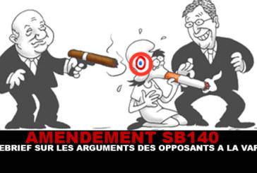 SB-140: תחקיר על טיעוני המתנגדים ל vape!