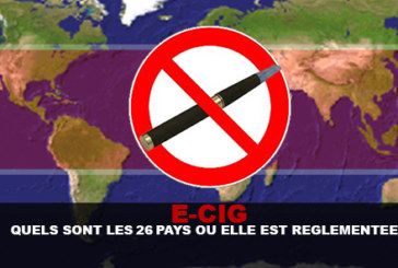 E-CIG: What are the 26 countries where it is regulated?