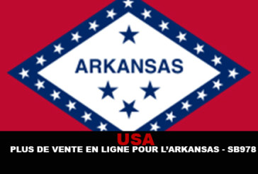USA : Plus de vente en ligne pour l'Arkansas (SB978)