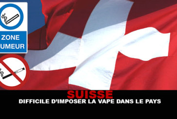 SWITZERLAND: It's hard to impose the vape in the country!