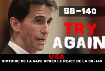 """ארה""""ב: ניצחון של vape לאחר דחיית SB-140!"""