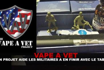 VAPE A VET : Un projet aide les militaires à en finir avec le tabac !