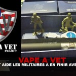 VAPE A VET: A project helps soldiers finish tobacco!