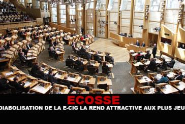 ECOSSE : La «diabolisation» de la e-cig la rend attractive aux plus jeunes.