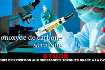 ETUDE : Moins d'exposition aux substances toxiques grâce à la e-cig !