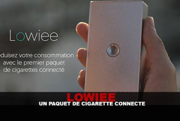 LOWIEE : Un paquet de cigarette connecté….