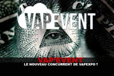 VAP'EVENT: il nuovo concorrente di Vapexpo?