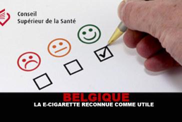 BELGIQUE : Le Conseil supérieur de la santé reconnaît la e-cigarette comme utile !