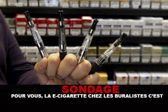 SONDAGE : Pour vous, la e-cigarette chez les buralistes c'est…