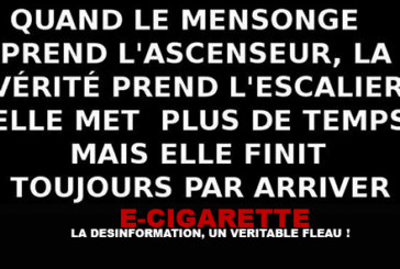 E-cigarette: Misinformation, a real scourge!