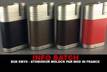 INFO BATCH : Box Emys (Mod In France)