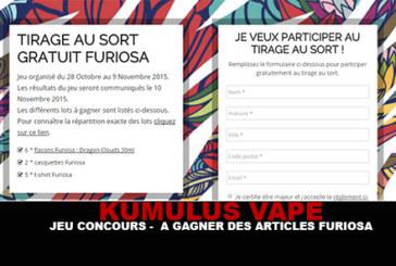 "KUMULUS VAPE: תחרות - כדי לנצח מאמרים ""Furiosa"""