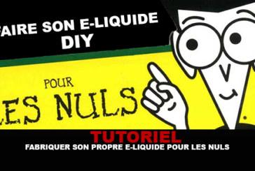 TUTORIAL: הפוך את הנוזל האלקטרוני שלך עבור dummies!