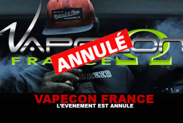 VAPECON FRANCE: The event is canceled!