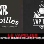 LE VAPELIER : Des nouveaux services exclusifs et explosifs !