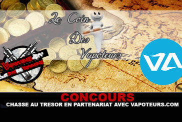 תחרות: ציד אוצרות בשותפות עם vapoteurs.com