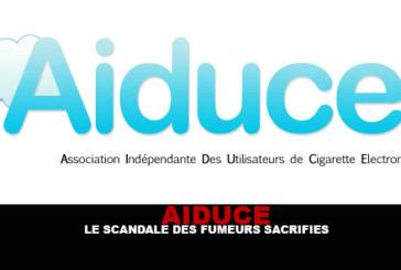 AIDUCE : Le scandale des fumeurs sacrifiés