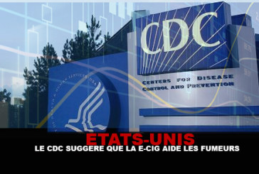 USA : Le CDC suggère que la e-cigarette aide les fumeurs à quitter le tabac !