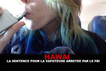 HAWAI : La sentence pour la vapoteuse arrêtée par le FBI en septembre.