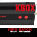 INFORMAZIONI SUL BAGNO: KBOX 70 (Kangertech)