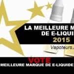 VOTE: המותג הטוב ביותר של E- נוזל 2015!