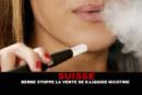 שווייץ: ברן מפסיק למכור נוזל אלקטרוני לניקוטין.