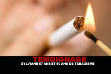 TÉMOIGNAGE : Sylviane, 67 ans et 50 ans de tabagisme.