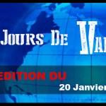 7 JOURS DE VAPE : EDITION DU20 JANVIER 2016
