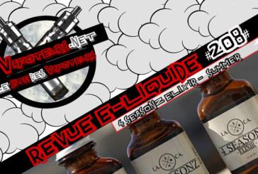 E-Liquid recensie # 208 - 4 SEASONZ ELIXIR - SUMMER (VS)