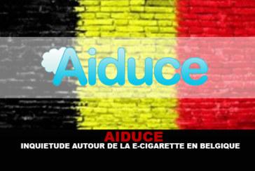 AIDUCE: preoccupazione per la sigaretta elettronica in Belgio.