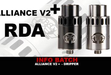 INFO BATCH : Dripper Alliance V2+