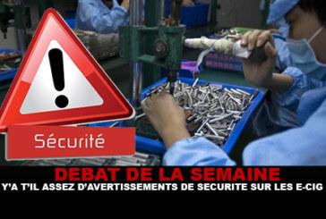 ДИСКУССИЯ: Достаточно ли предупреждений о безопасности электронных сигарет?