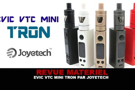 REVUE : Le test complet de L'Evic VTC Mini Tron (Joyetech)