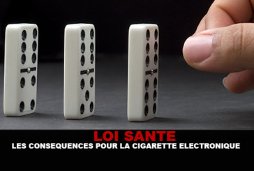 LOI SANTE : Les conséquences pour la cigarette électronique.