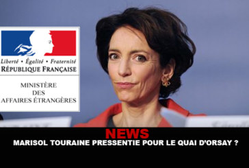 INFO: Marisol Touraine approached for the Quai d'Orsay?