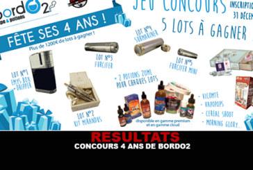 תוצאות: תחרות 4 שנים של Bordo2 (1200 יורו של הרבה)