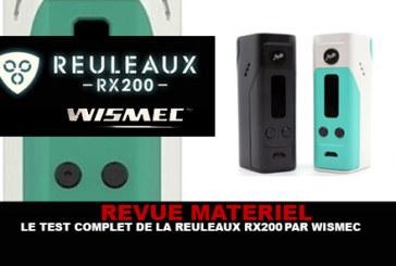 REVUE : Le test complet de la Reuleaux RX 200 (Wismec)