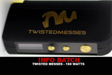 INFORMAZIONI SUL BATCH: Box Twisted Messes 150w