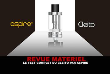 REVUE : Le test complet du «Cleito» par Aspire